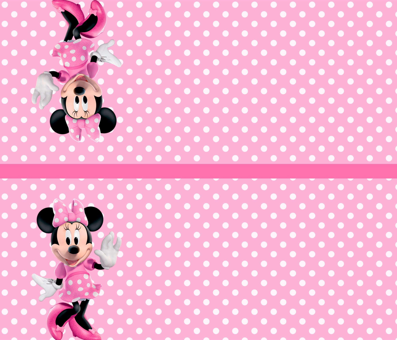 Kit Digital Minnie Rosa
