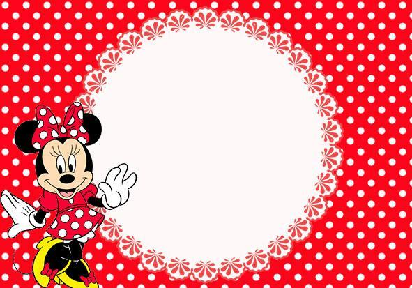 Mini Mouse Invitations is best invitations template