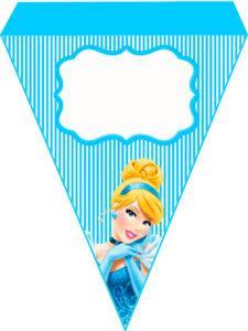 Bandeirola Cinderela