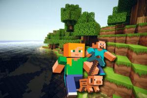 Minecraft- Kit Digital Grátis para Imprimir balde de pipoca