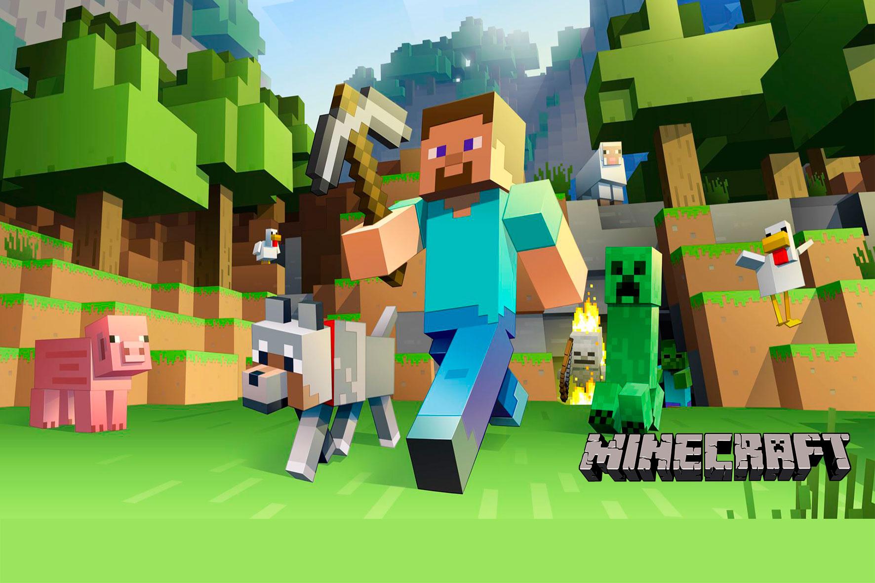 Minecraft  Kit Digital Grátis para Imprimir CONVITE