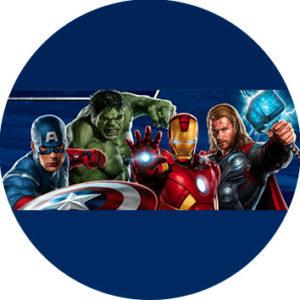 Vingadores - Kit Digital Grátis para Imprimir topper