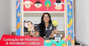 Curso Contação de Histórias Conta de Novo Jocinete Amorim