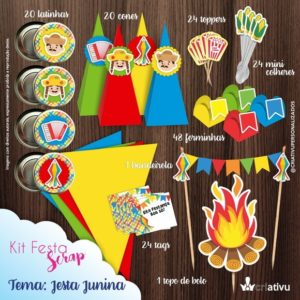kit festa scrap festa junina - festa julina