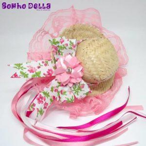 tiara caipira flor festa junina