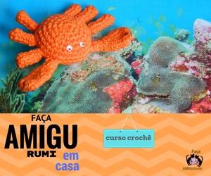 Curso Método de Crochê Amigurumi Tema Fundo do Mar