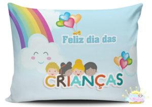lembrancinha dia das crianças almofada personalizada
