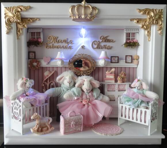 Quadro Porta Maternidade