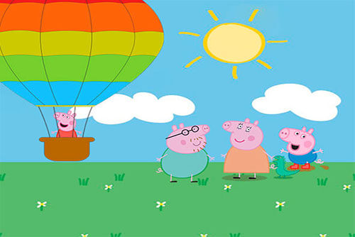 Kit Festa Grátis Peppa Pig Balão