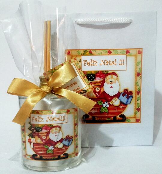Kit Aromatizador 100 ml + sacolinha natal