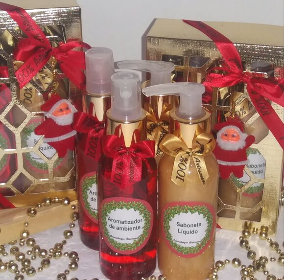 kit perfumado natal