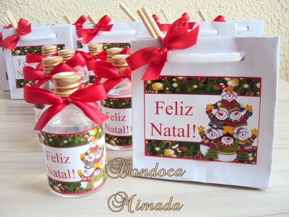 Presente de Natal Kit Perfumado