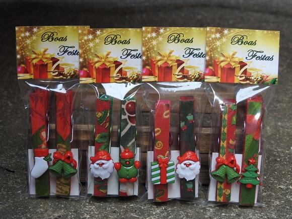Lembrancinhas de Natal imã de geladeira